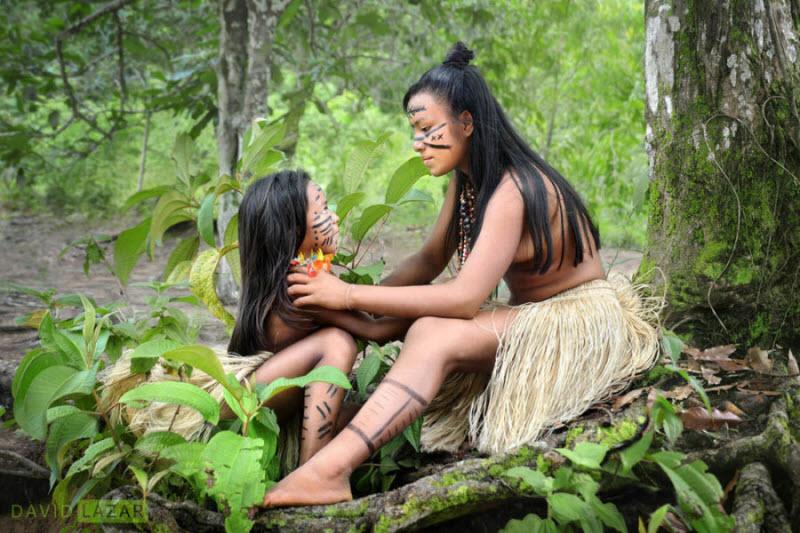 голые дикари в амазонских лесах-сп1