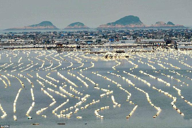 Невероятные плавающие города Китая