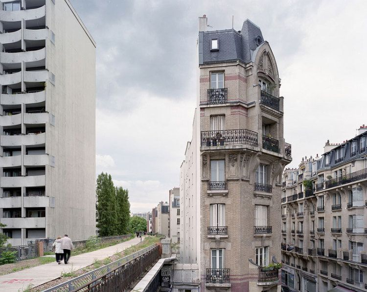 Заброшенная парижская железная дорога