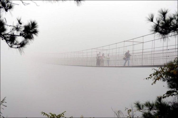 Мост для любителей острых ощущений