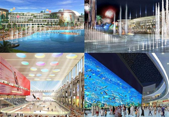 10 самых роскошных центров в мире