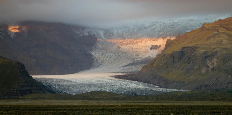 Грубая красота Исландии: Скафтафетль