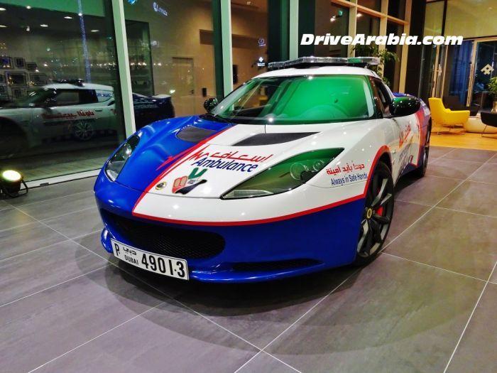 Новые кареты скорой помощи в Дубае