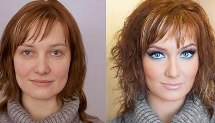 Сила макияжа