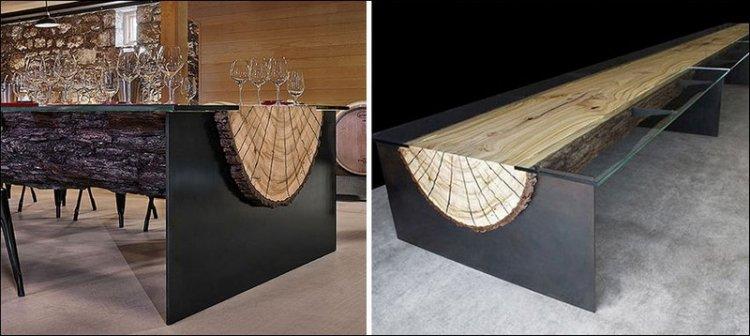 Самые необычные столы