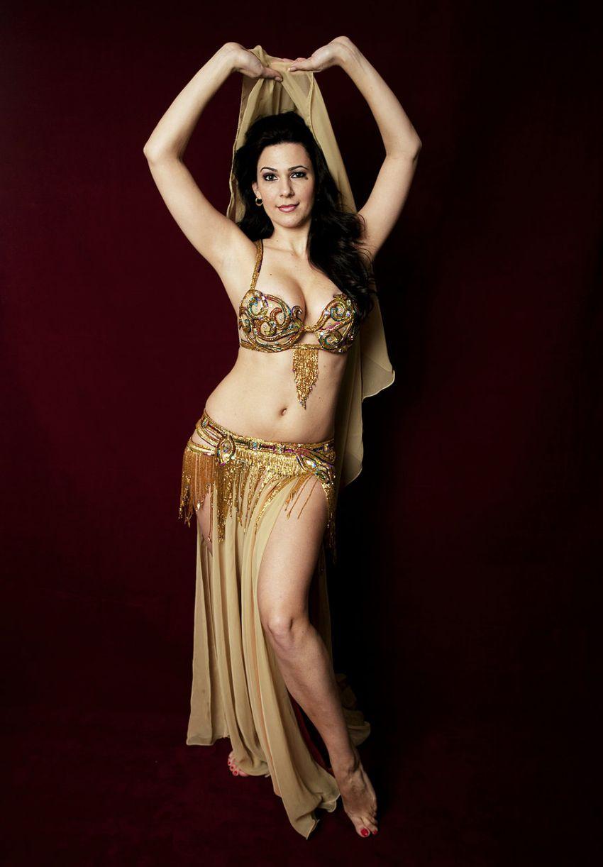 Портреты египетских исполнительниц танца живота