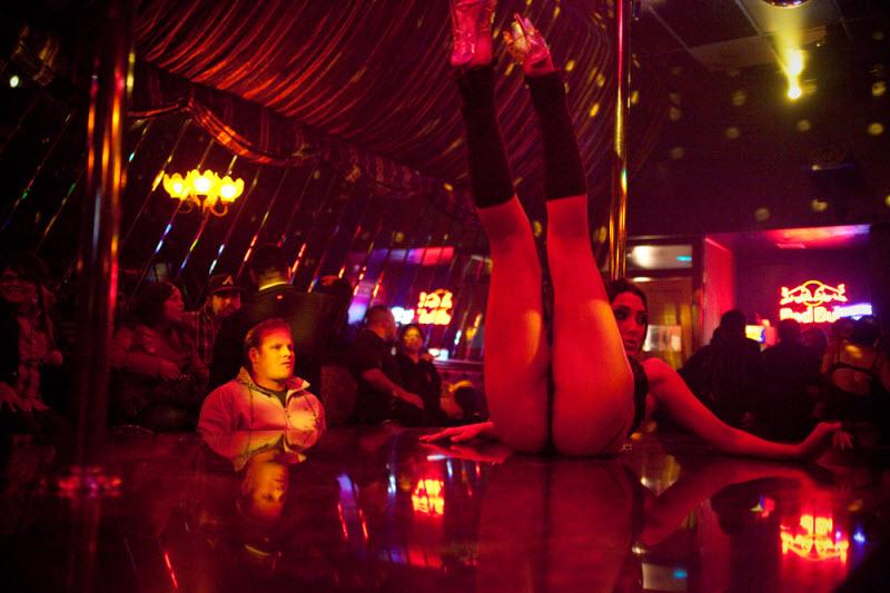 Танцовщицы Сан-Франциско мексиканского фотографа