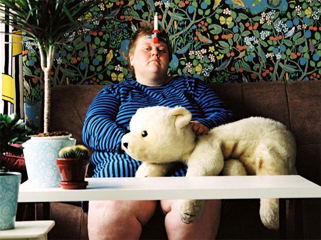Анти-селфи от финской художницы
