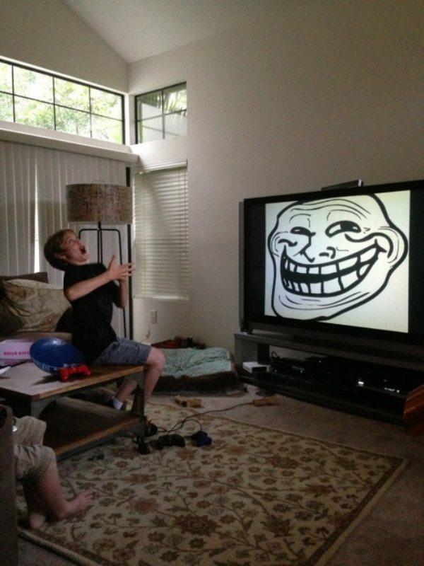 Комичные лица на фото