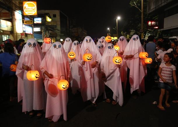 История Хэллоуина в фотографиях
