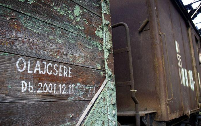 Старое локомотивное депо в Венгрии