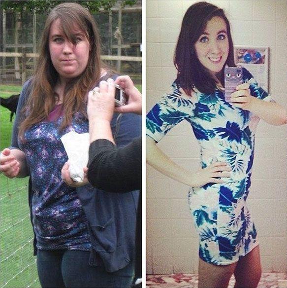 Преображение девушек, сбросивших лишний вес
