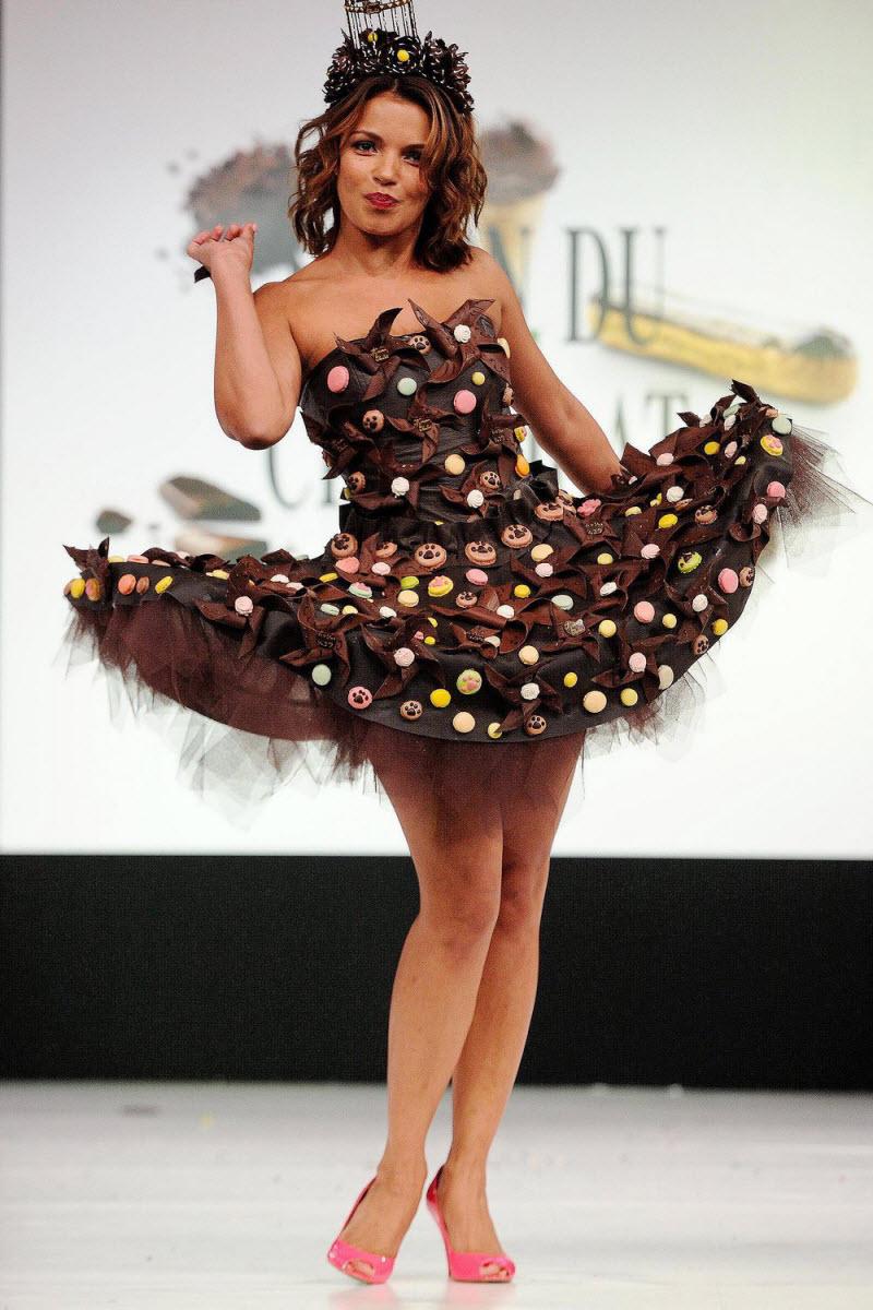 Шоколадный фестиваль в Париже