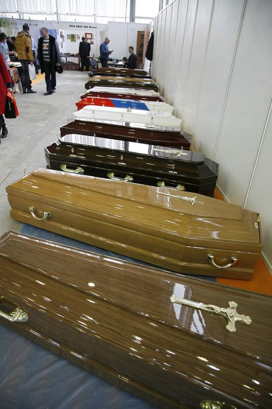 Выставка похоронной культуры в Москве