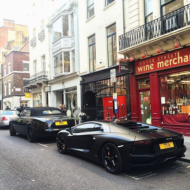 Шикарные автомобили на улицах