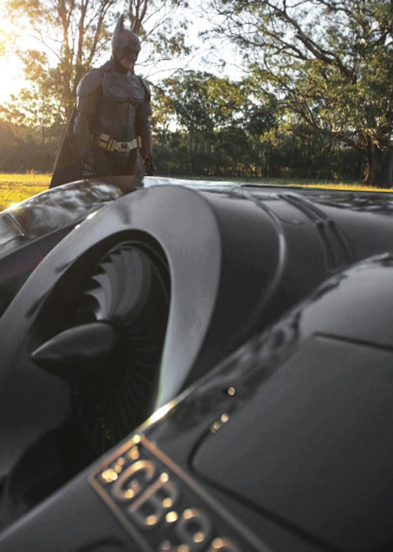 Настоящий Бэтмобиль своими руками