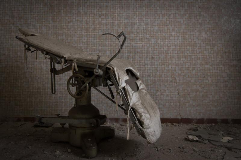 Жуткие фотографии заброшенных мест