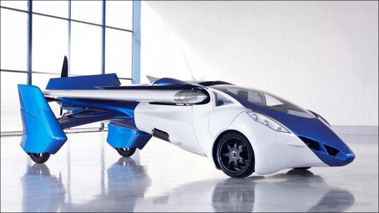 Аэромобиль - летающий автомобиль