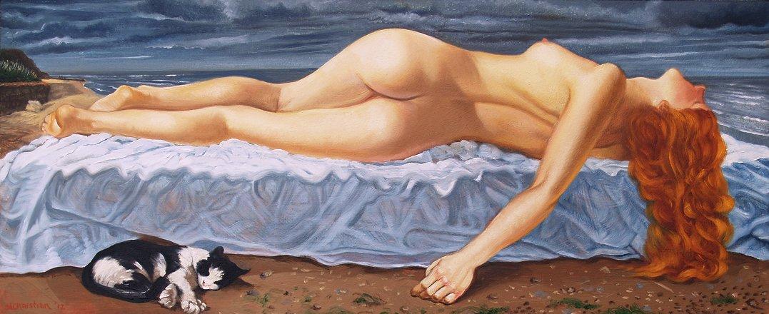Эротические фантазии художника Энтони Кристиана