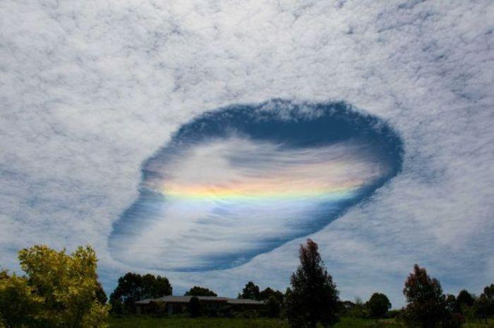 Метеорологическое явление в Австралии