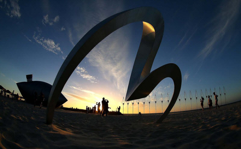 Выставка в прибрежной зоне Сиднея