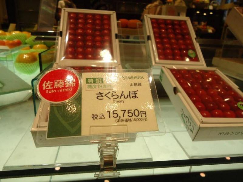 Фруктовая лавка с нереальными ценами