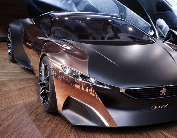 Футуристичный Peugeot Onyx