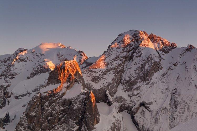 Гора Мармолада в Италии