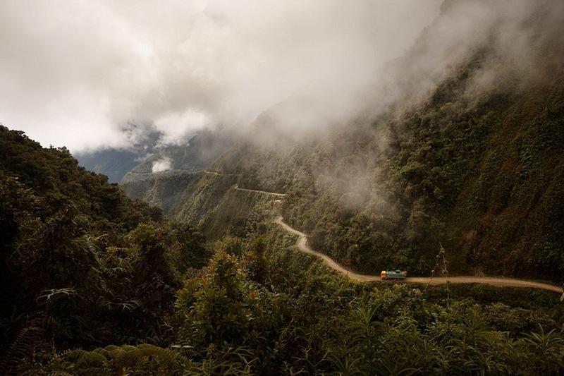 Ла-Пас - главный город в Боливии