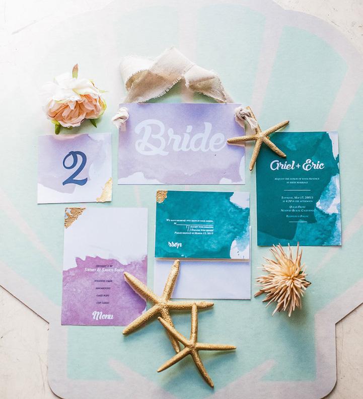 Свадьба в стиле Русалочки