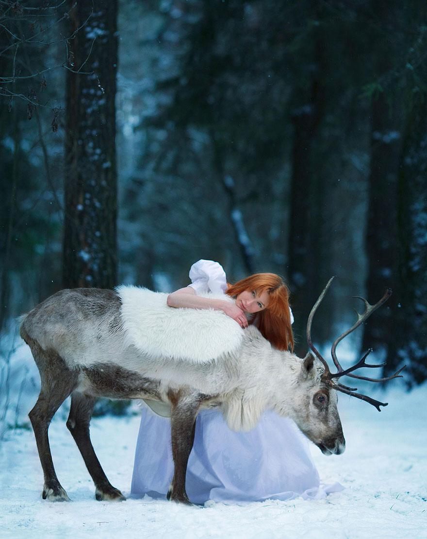 Сказочные фото с животными