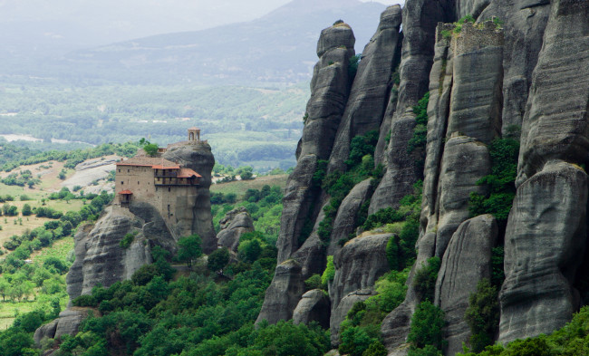 Высокогорные монастыри в Греции