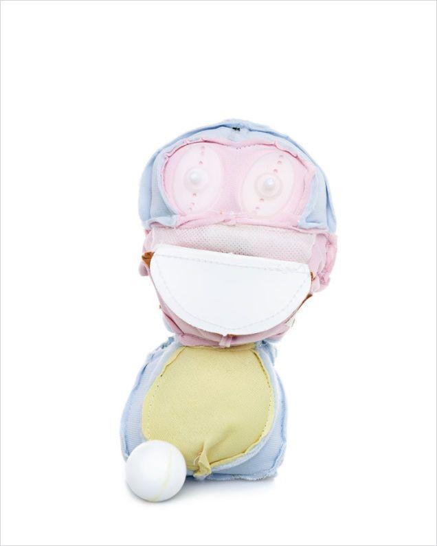 Плюшевые игрушки вывернуты наизнанку