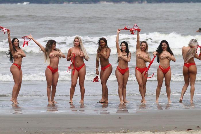 Финалистки конкурса Мисс Бразильские ягодицы 2014