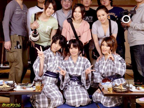 Девушки из японского порно-бизнеса