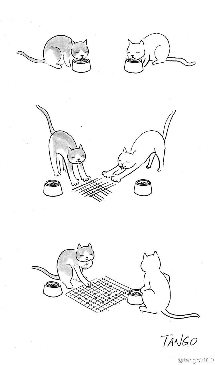Прикольные иллюстрации от шанхайского художника