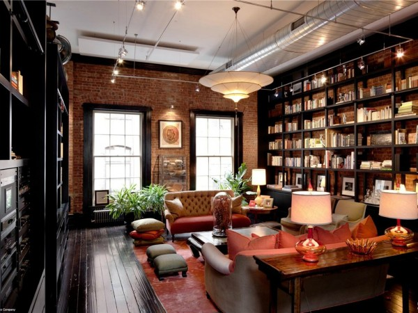 Подборка дизайнерских домашних библиотек