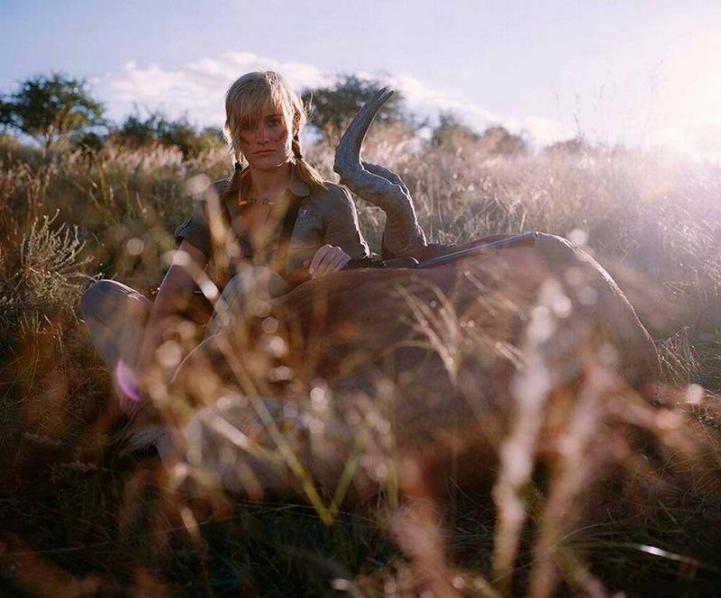 Неоднозначный фотопроект Охотники и их добыча