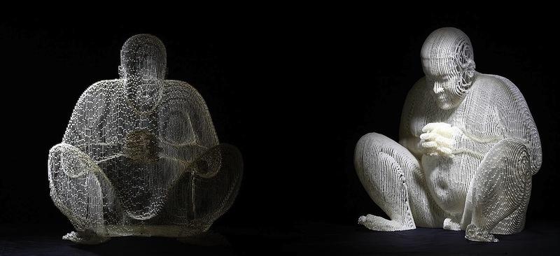 Удивительные скульптуры из бумаги