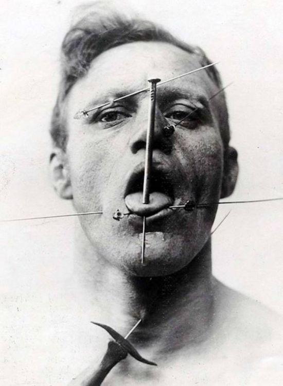 Необычные артисты старого цирка