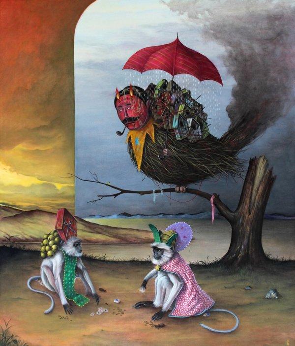Фантастические образы художника Эль Гато Камин