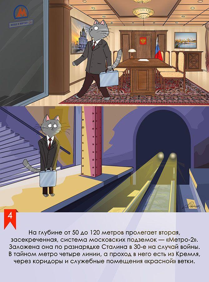 Московское метро: мифы, легенды, факты