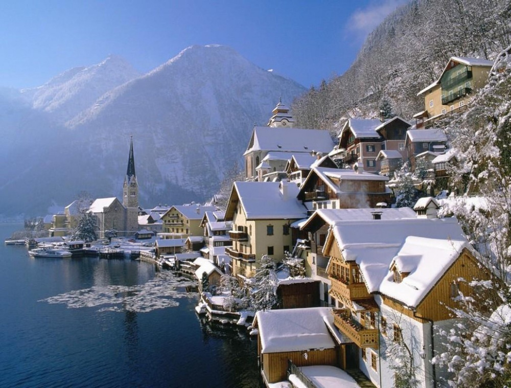 Нарядные города, преображенные зимой