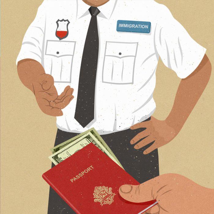 Сатирические иллюстрации Джона Холкрофа