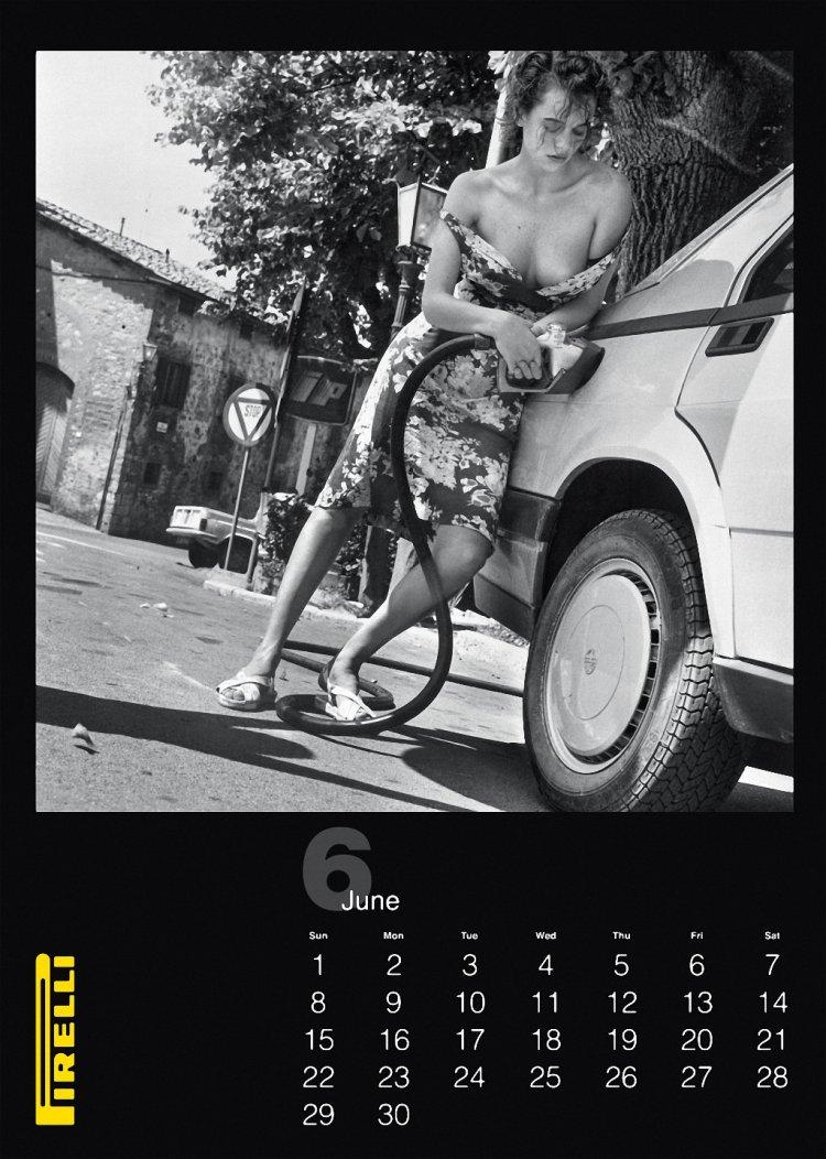 Всё лучшее за 50 лет из архива календаря Pirelli