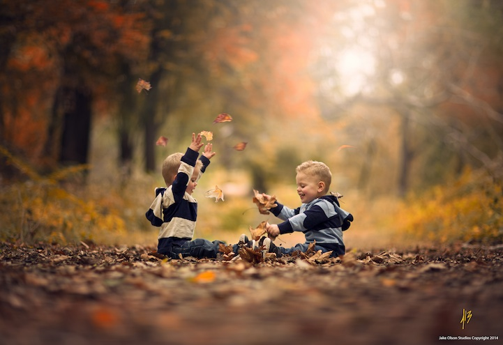 Детские снимки Jake Olson