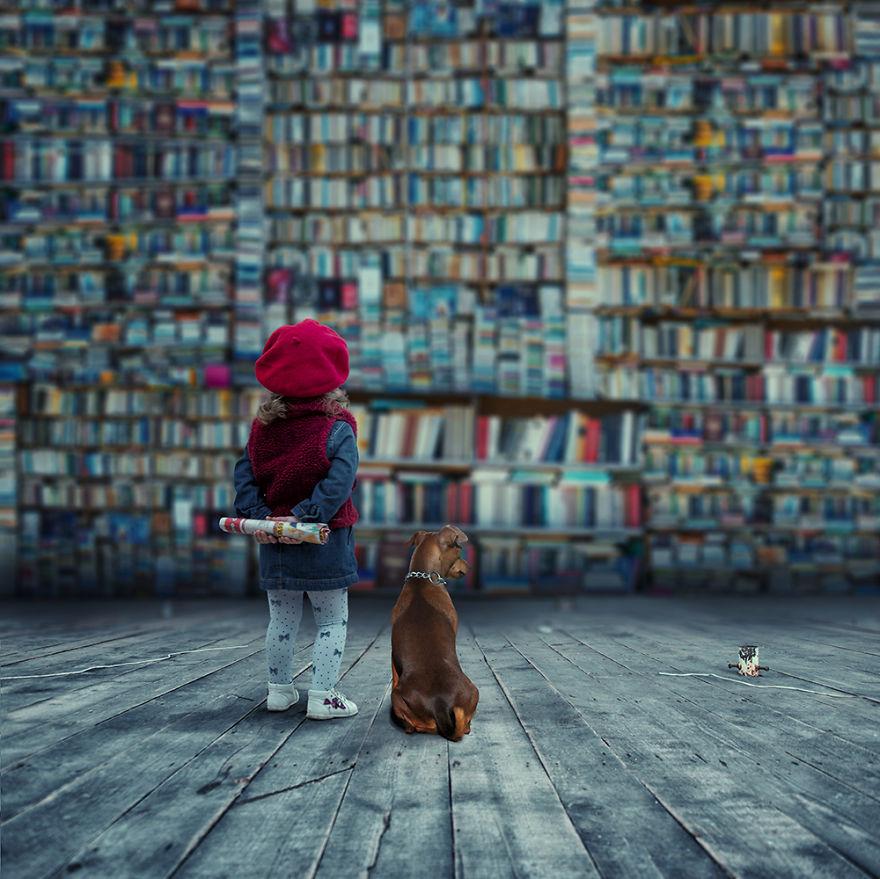 Сказочные фотоколлажи от Caras Ionut