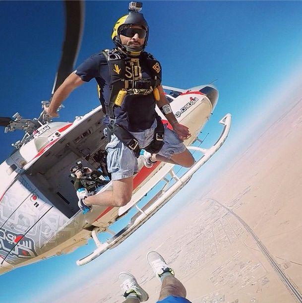 Инстаграм принца Дубая