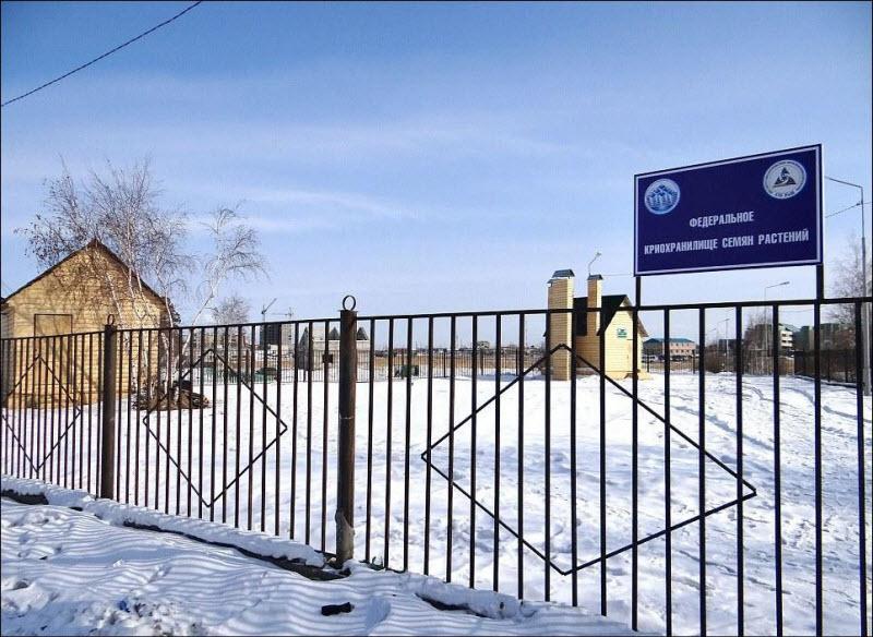 Криохранилище  для семян в Якутске