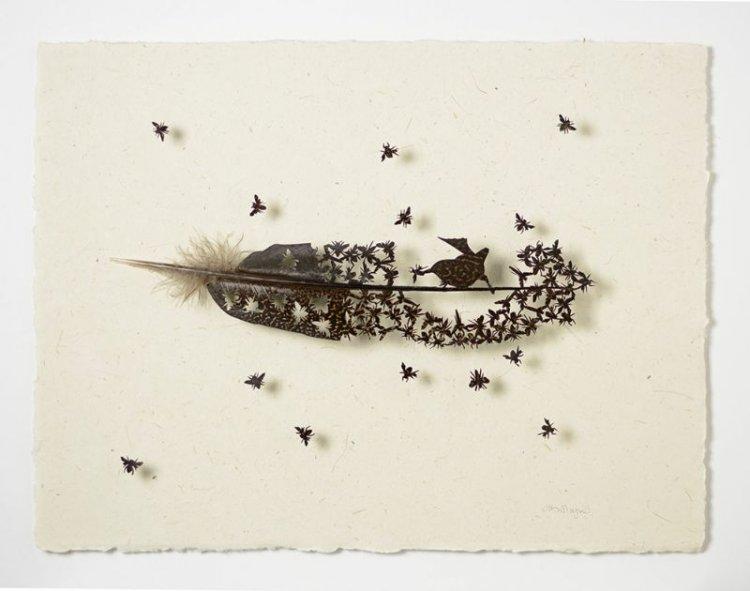 Узоры на перьях